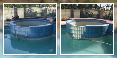 Pool tile cleaning california
