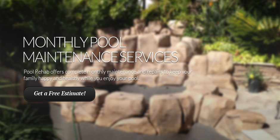 Monthly Pool Maintenance Services
